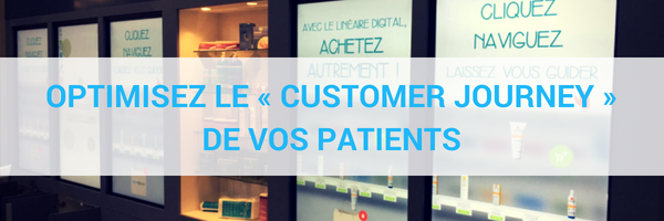 Optimisez le « Customer Journey » de vos patients avec le linéaire digital OffiTouch
